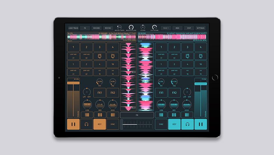 The fully customizable SODA iOS DJ app is finally out