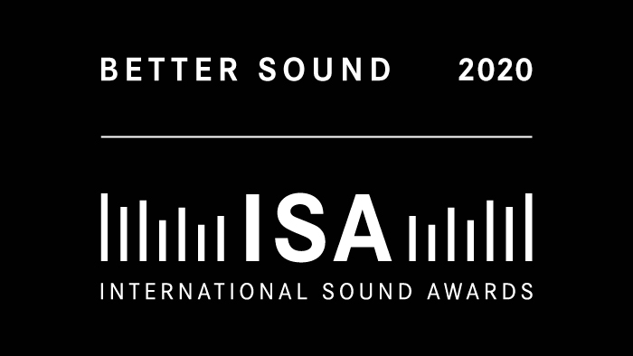 aconica receives BETTER SOUND AWARD 2020