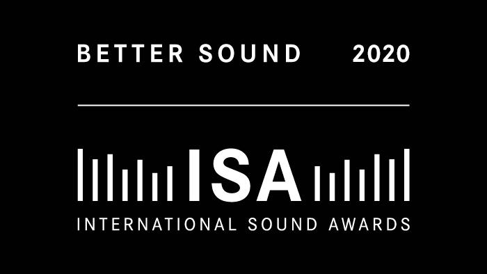 aconica receives BETTER SOUND AWARD 2020